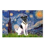 Starry / Fox Terrier (#1) Postcards (Package of 8)