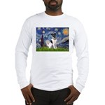 Starry / Fox Terrier (#1) Long Sleeve T-Shirt