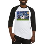 Starry / Fox Terrier (#1) Baseball Jersey