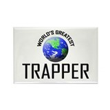 World's Greatest TRAPPER Rectangle Magnet (10 pack