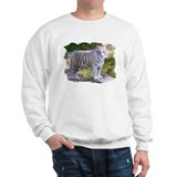 Standing White Tiger Sweatshirt