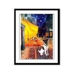 Cafe / Smooth T (#1) Framed Panel Print