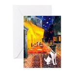 Cafe / Smooth T (#1) Greeting Cards (Pk of 10)