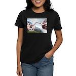 Creation / Smooth T (#1) Women's Dark T-Shirt