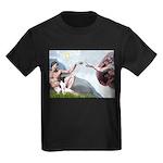 Creation / Smooth T (#1) Kids Dark T-Shirt