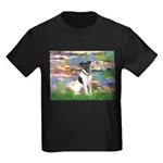 Lilies / Smooth T (#1) Kids Dark T-Shirt
