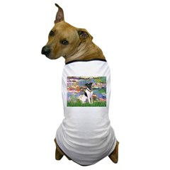 Lilies / Smooth T (#1) Dog T-Shirt