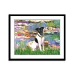 Lilies / Smooth T (#1) Framed Panel Print