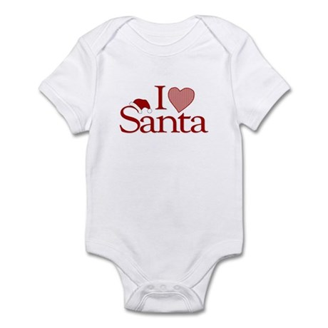I Love Santa Infant Bodysuit