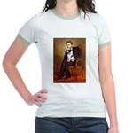 Lincoln / Smooth T (#1) Jr. Ringer T-Shirt