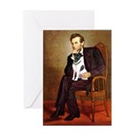 Lincoln / Smooth T (#1) Greeting Card
