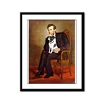Lincoln / Smooth T (#1) Framed Panel Print