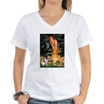 Fairies / Smooth T (#1) Women's V-Neck T-Shirt