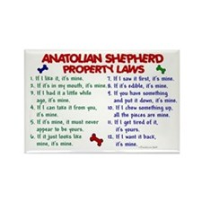 Anatolian Shepherd Property Laws 2 Rectangle Magne