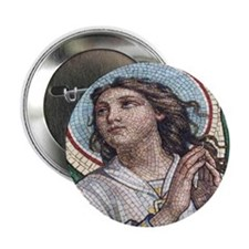 "Peace Angel 2.25"" Button (10 pack)"