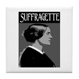 SUFFRAGETTE Tile Coaster