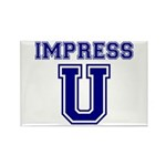 Impress U Rectangle Magnet (10 pack)