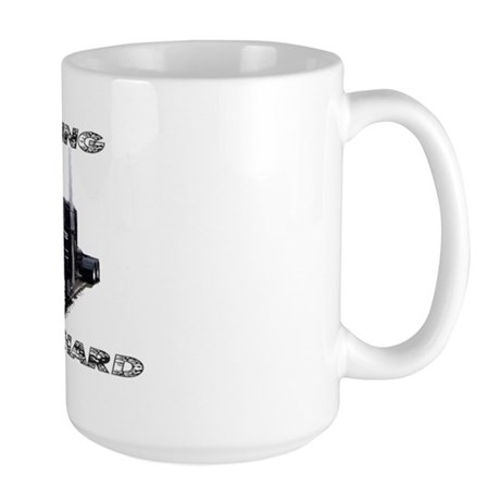 Running Low & Hard Large Mug