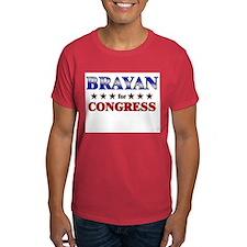 BRAYAN for congress T-Shirt