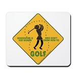 Ladies Golf Mousepad