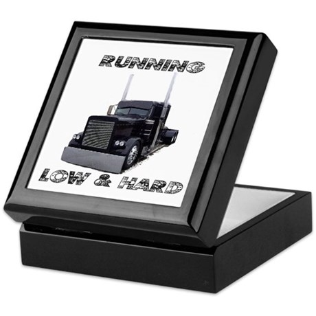 Running Low & Hard Keepsake Box