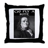 GO FLY A KITE (2) Throw Pillow