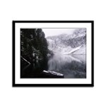 SERENE LAKE Framed Panel Print