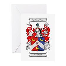 Beckford Crest Greeting Cards (Pk of 10)