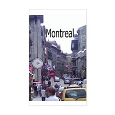 Montreal Rectangle Decal