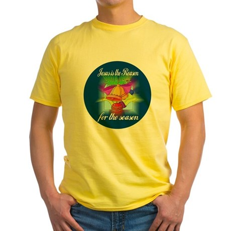 Jesus is the Reason Yellow T-Shirt