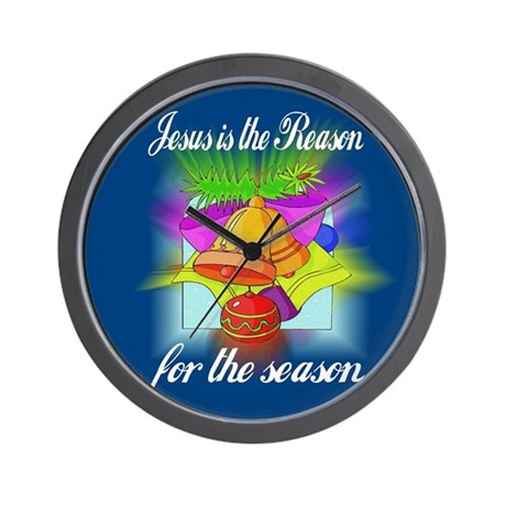 Jesus is the Reason Wall Clock