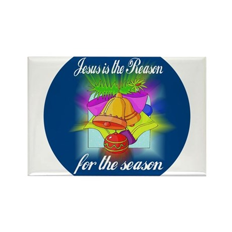 Jesus is the Reason Rectangle Magnet (10 pack)