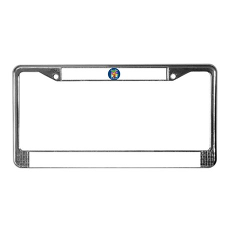 Jesus is the Reason License Plate Frame