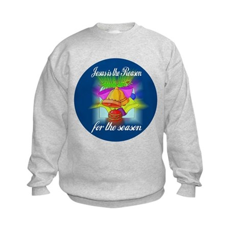Jesus is the Reason Kids Sweatshirt