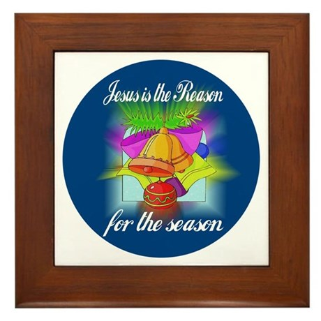 Jesus is the Reason Framed Tile