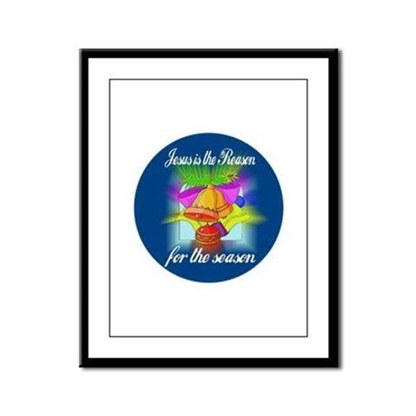 Jesus is the Reason Framed Panel Print