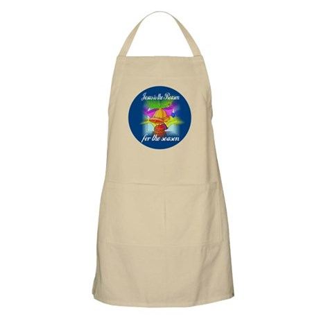 Jesus is the Reason BBQ Apron