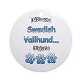 Vallhund Not Ornament (Round)