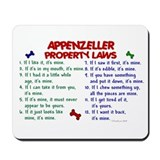 Appenzeller Property Laws 2 Mousepad