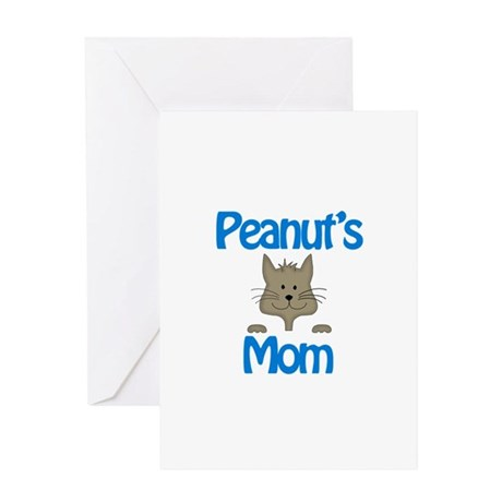 Peanut's Mom Greeting Card