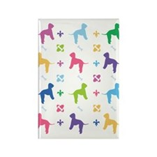 Bedlington Terrier Designer Rectangle Magnet