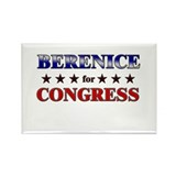 BERENICE for congress Rectangle Magnet (10 pack)