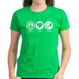 Peace Love Vegan Tee