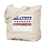 BEATRIZ for congress Tote Bag