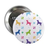 "Bull Terrier Designer 2.25"" Button"
