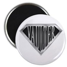 "SuperVaulter(metal) 2.25"" Magnet (10 pack)"