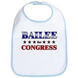 BAILEE for congress Bib