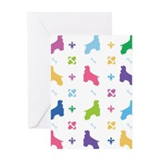 Cocker Spaniel Designer Greeting Card