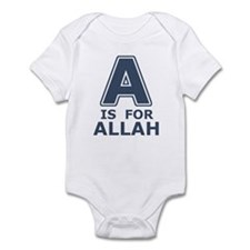 A is for Allah Infant Bodysuit