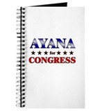 AYANA for congress Journal